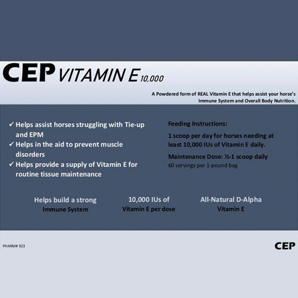CEP Vitamine E 10,000