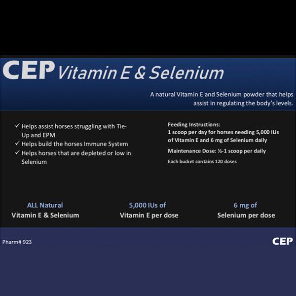 CEP Vitamin E & Selenium