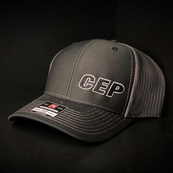 CEP Branded Hat Black Gray Back