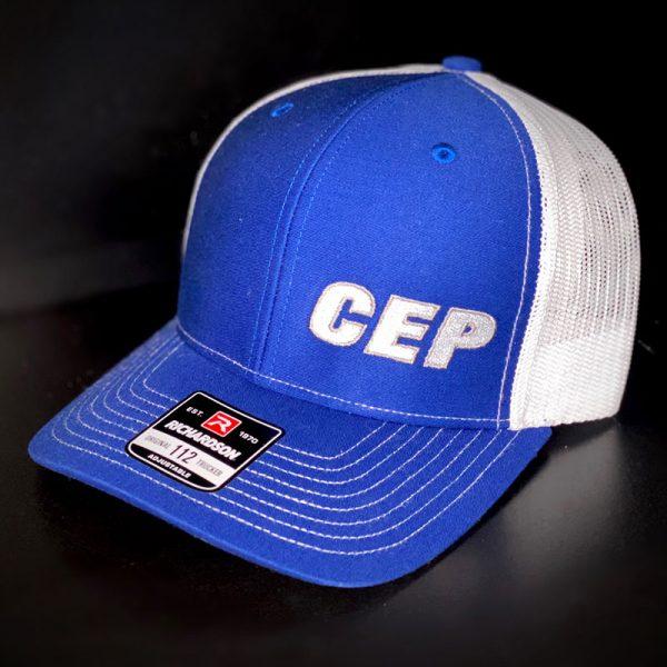 CEP Branded Hat Blue White Back