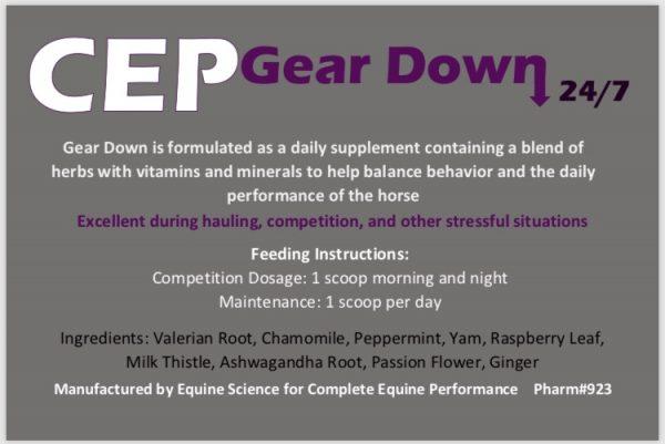 CEP Gear Down 24/7