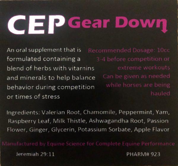 CEP Gear Down Paste