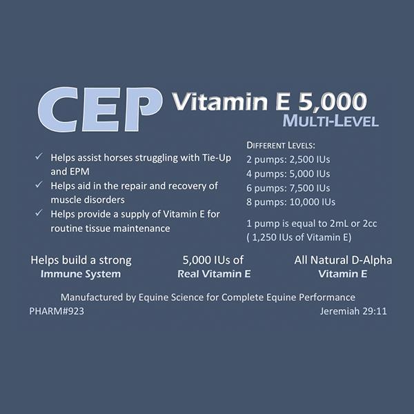 CEP Vitamin E 5000 Multi Level